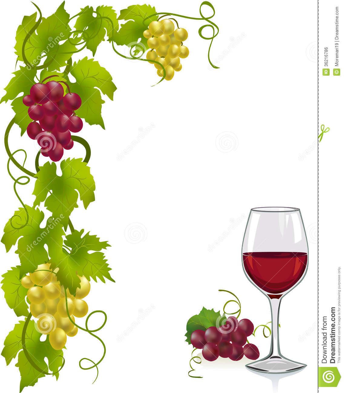 Grapevine Wine Clipart