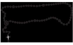 Gravemarker Clip Art Examples Of Rosaries Memorial Clip Art