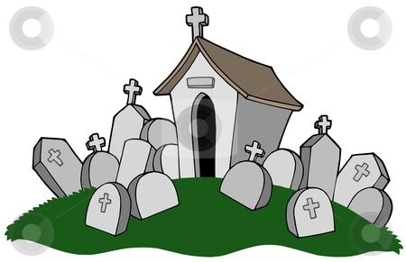 Graveyard Clipart #1