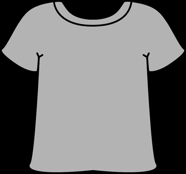 Gray Tshirt - Tshirt Clip Art