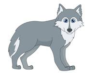 Gray Wolf Clipart. Size: 37 Kb-gray wolf clipart. Size: 37 Kb-4