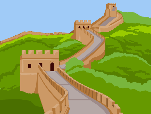 Great Wall Of China Clipart-Clipartlook.com-583