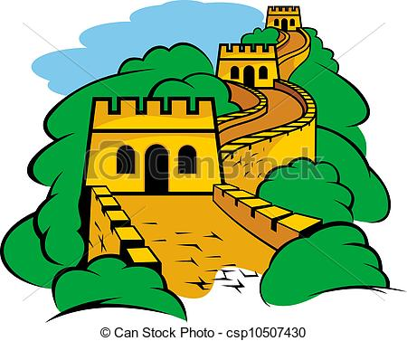 Great Wall in China - csp10507430