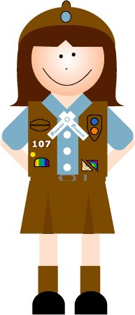 Great website for Brownie Ide - Girl Scout Brownie Clip Art
