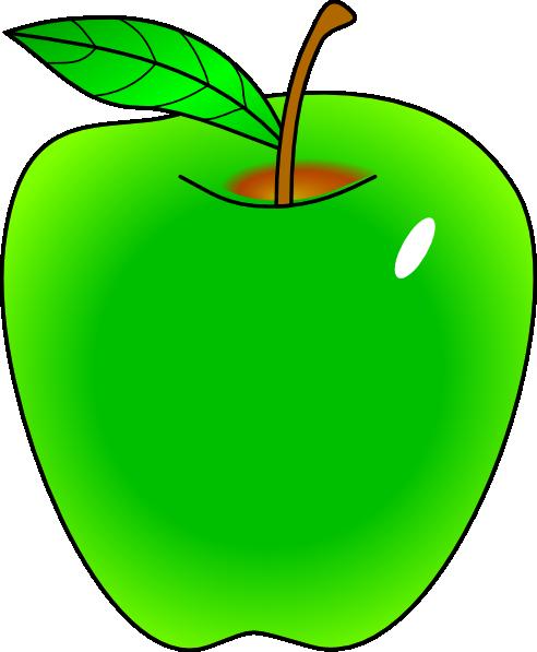 green apple clipart-green apple clipart-0