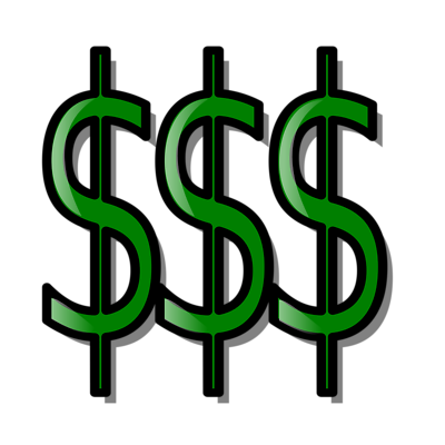 green dollar sign clipart
