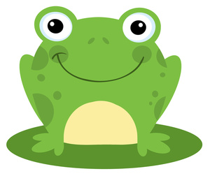 Green Frog Clipart-green frog clipart-16