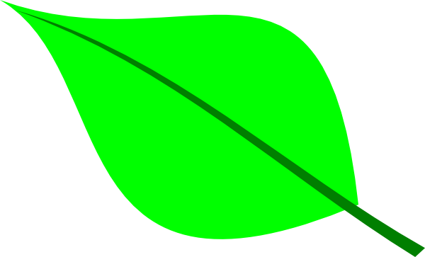 Green Leaf Clipart-green leaf clipart-4