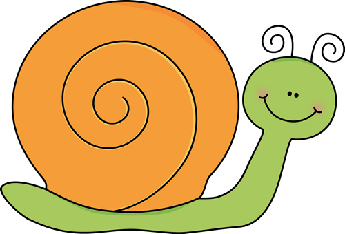 Green And Orange Snail-Green and Orange Snail-3