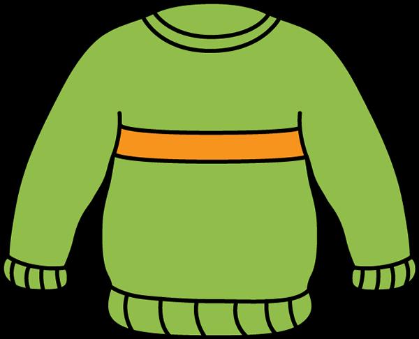 Green and Orange Sweater