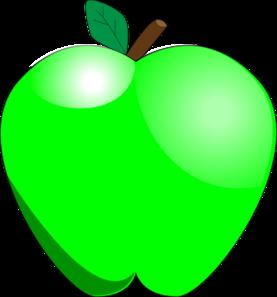 Green Apple Clip Art-Green Apple Clip Art-12