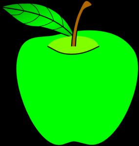 Green Apple Clip Art