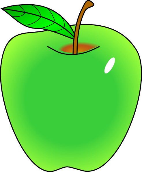 Green Apple Clipart Clipart Panda Free Clipart Images