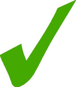 Green Check Mark Clip Art-Green Check Mark Clip Art-13