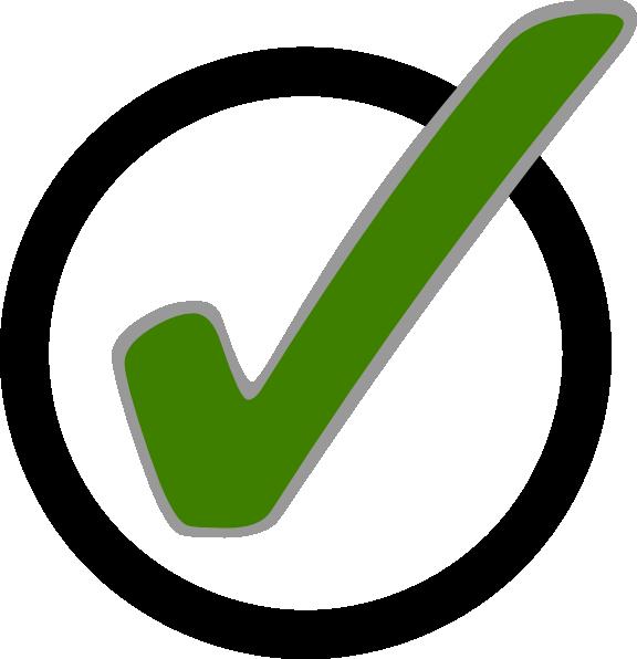 Green Check Mark In Circle Clip Art At C-Green Check Mark In Circle Clip Art At Clker Com Vector Clip Art-15