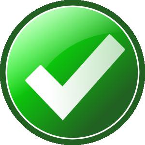 ... Green Checkmark clip art - vector clip art online, royalty free .