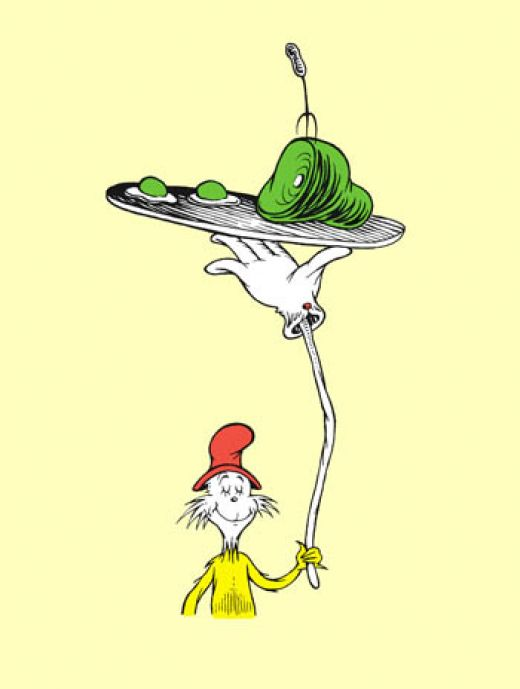 Green Eggs And Ham Clip Art #11333