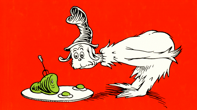 Green Eggs And Ham Clipart Black And White Gallery