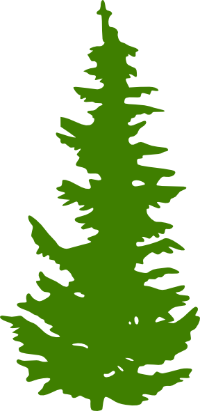 Green Evergreen Tree Clip Art At Clker Com Vector Clip Art Online