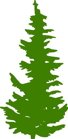 Green Evergreen Tree Clip Art At Clker C-Green Evergreen Tree Clip Art At Clker Com Vector Clip Art Online-3