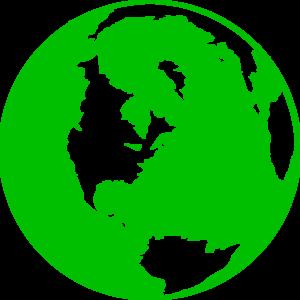 Green Globe Clipart #1-Green Globe Clipart #1-9