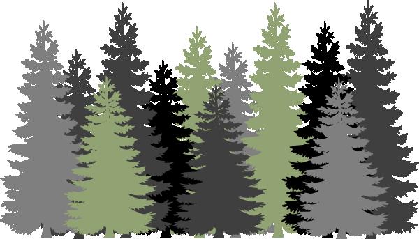 Green Gray Forest Clip Art At Clker Com -Green Gray Forest Clip Art At Clker Com Vector Clip Art Online-3