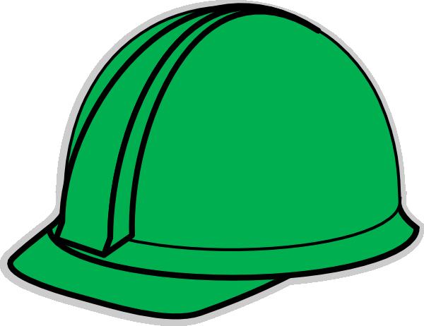 Green Hard Hat Clip Art - Vector Clip Ar-Green Hard Hat clip art - vector clip art online, royalty free-8