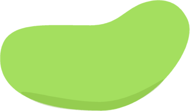 Green Jelly Bean - Jelly Bean Clipart