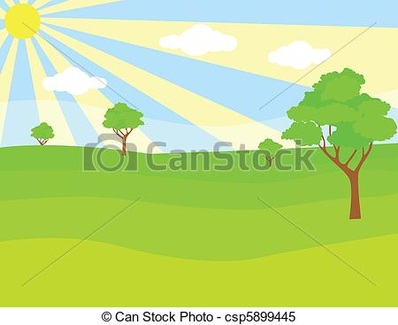 Green landscape Stock Illustrationsby ...