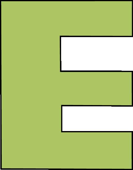 Green Letter E Clip Art Image Large Gree-Green Letter E Clip Art Image Large Green Capital Letter E-4