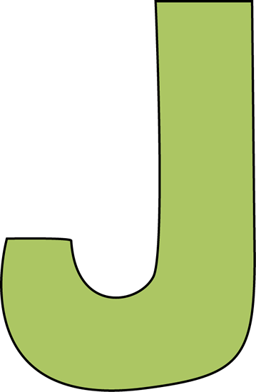 Green Letter J-Green Letter J-2
