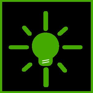 Green Light Bulb Energy Icon Clip Art-Green Light Bulb Energy Icon Clip Art-4