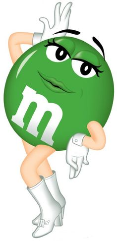 Green mm clipart - ClipartFox - M M Clip Art