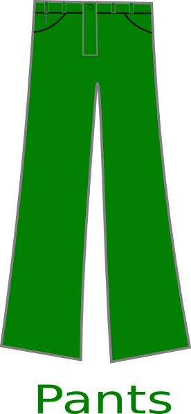 Green Pants Clip Art At Clker Com Vector Clip Art Online Royalty