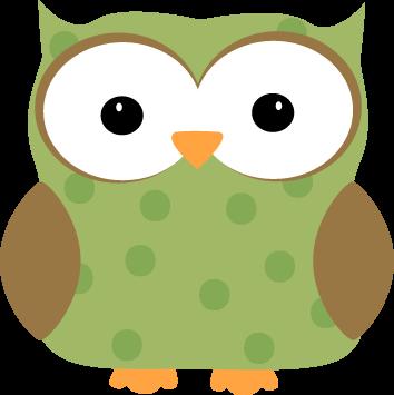 Green Polka Dot Owl Clip Art - Green Pol-Green Polka Dot Owl Clip Art - Green Polka Dot Owl Image-11