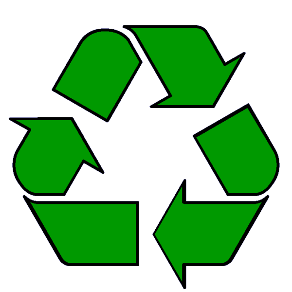 Green Recycle Symbol Clip Art. Free Symb-Green Recycle Symbol clip art. Free Symbols and Signs Clip .-5