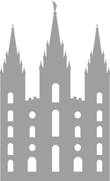 Green Salt Lake Temple Clipart. Download this image as:
