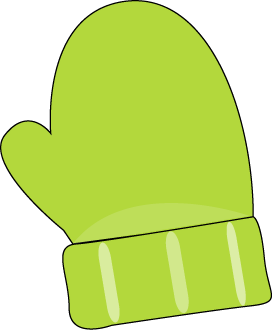 Green Single Mitten-Green Single Mitten-5