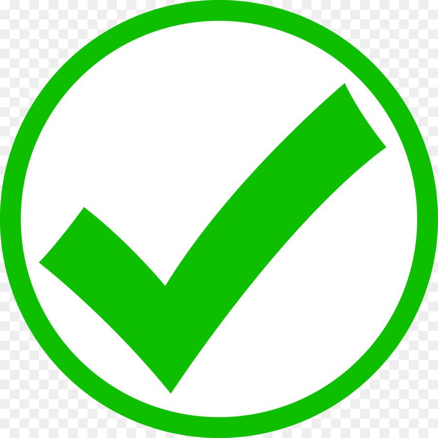 Check mark Tick Clip art - Green Tick Mark
