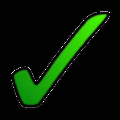 Green Tick Clipart accounts