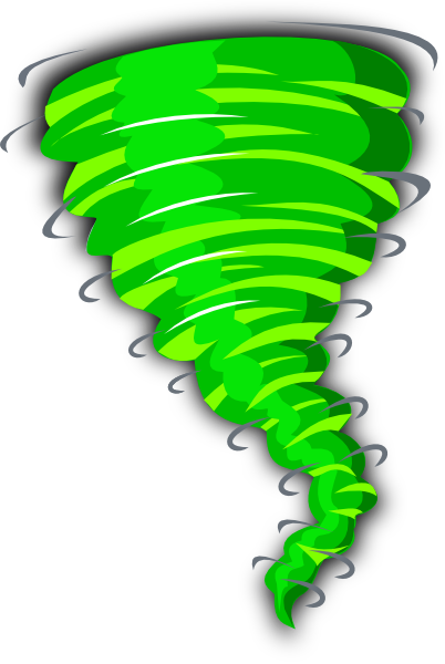 Green Tornado Clip Art At Clker Com Vector Clip Art Online Royalty