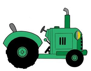 Green Tractor Clipart-Green Tractor Clipart-5