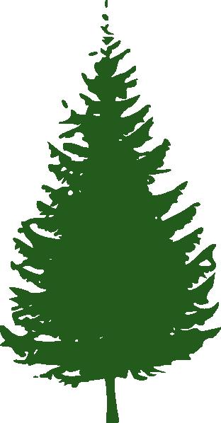 Green Tree clip art - vector .