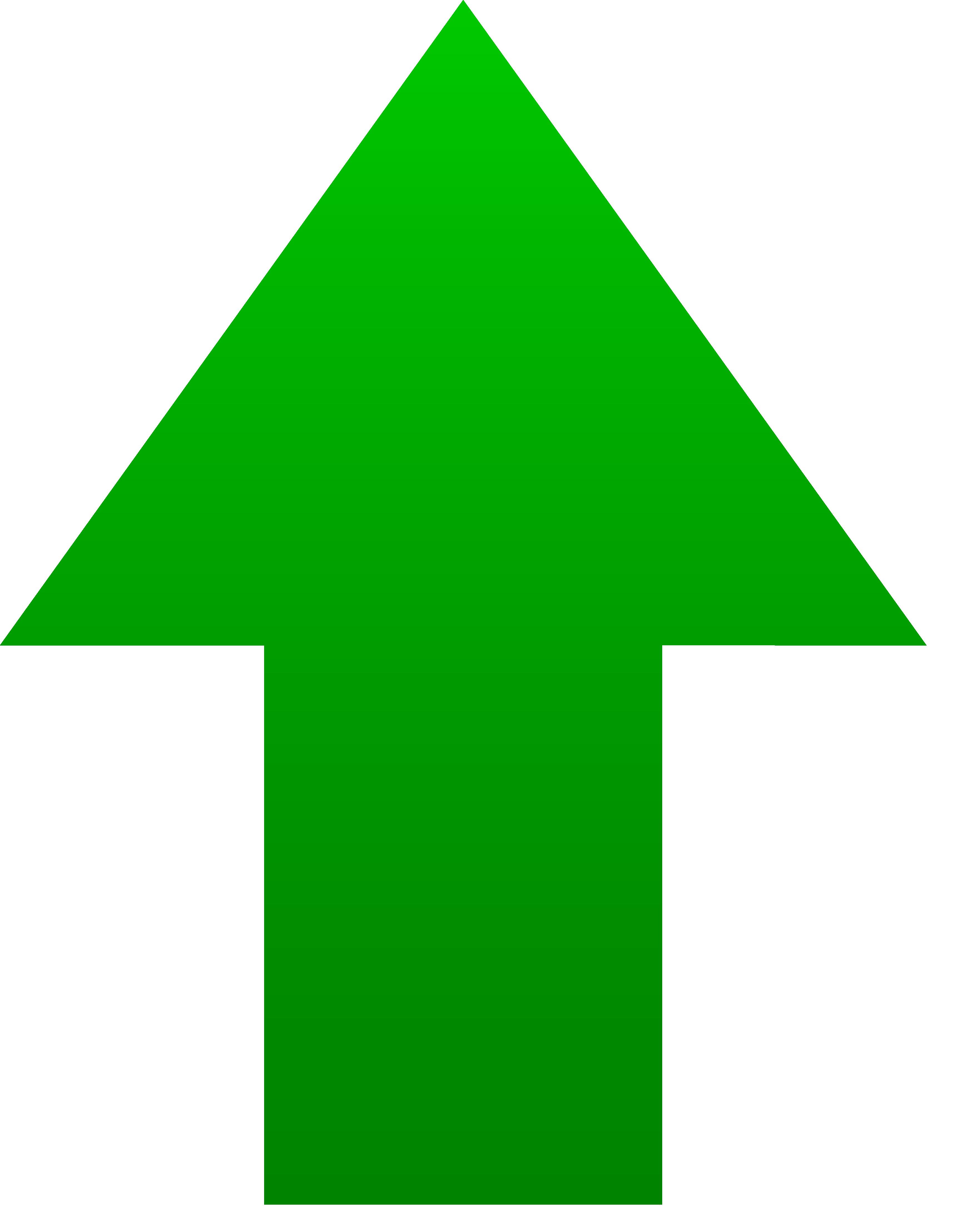 Green Up Arrow Clipart Best