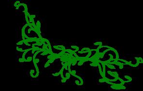 Green vine clip art at vector clip art