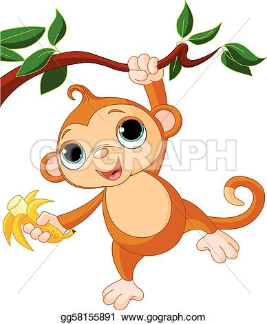 greeting monkey u0026middot; Baby monkey-greeting monkey u0026middot; Baby monkey on a tree-12