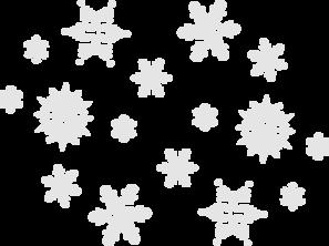 Grey Snow Clip Art