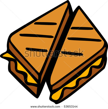 grilled cheese sandwich clipart-grilled cheese sandwich clipart-3