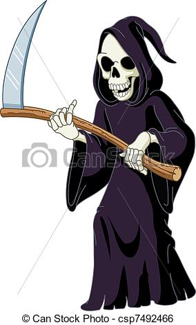 Grim Reaper Clip Art ...-Grim reaper Clip Art ...-12