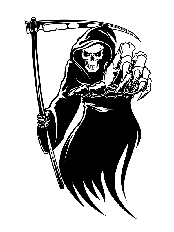 Grim Reaper Clipart - ClipartFest-Grim reaper clipart - ClipartFest-5